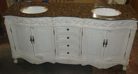 73 Inch Mayfield Vanity   Double Sink Vanity   Antique