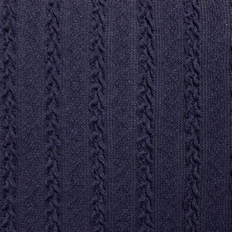 sweater knit fabric navy blue cable knit hacci sweater knit fabric 8