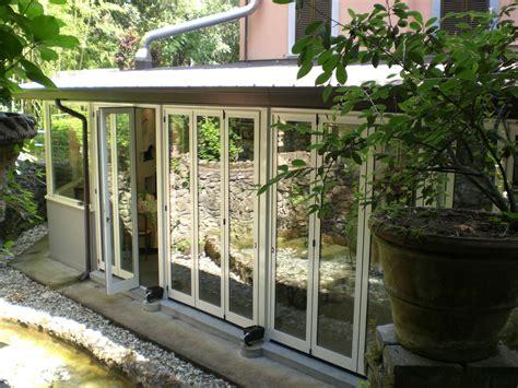 verande in alluminio verande a libro alca brescia