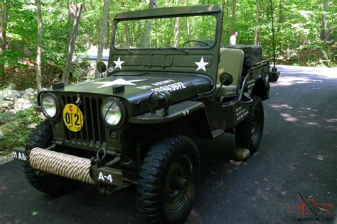 Korean War Jeep 1952 Willys M38 Jeep Korean War Army Vehicle