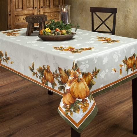 Thanksgiving Table Linens by Table Linens Tablecloths Thanksgiving