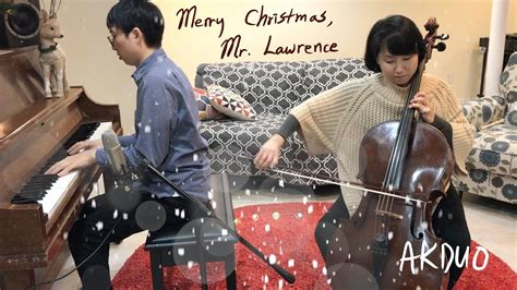 merry christmas  lawrence cello duo version played  akduo youtube