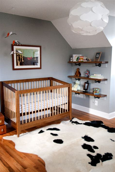 Cowhide Rug Nursery Asher S Explorer Nursery Project Nursery