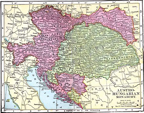 austro hungarian empire map austro hungarian monarchy