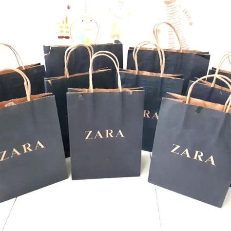 Sepatu Zara Preloved paper bag zara preloved fesyen wanita pakaian wanita di carousell