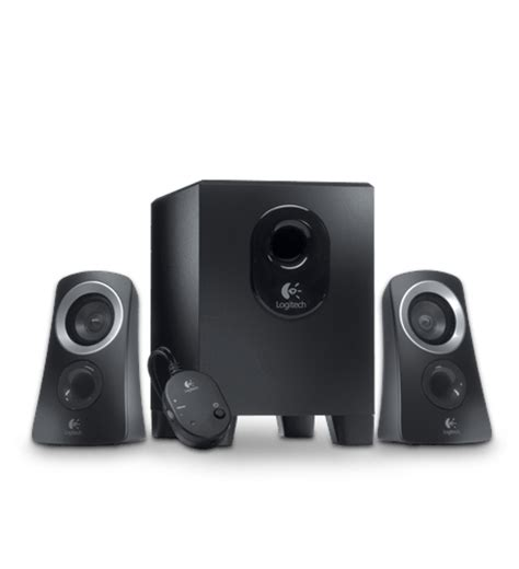 Logitech Z313 2 1 Speaker System logitech speaker system z313