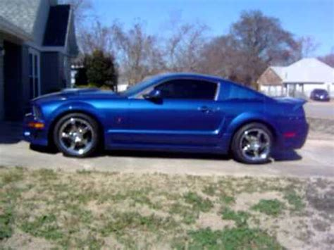 mustang vista blue 2006 roush stage 2 vista blue ford mustang