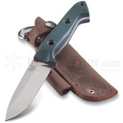 Fallkniven Kitchen Knives benchmade 162 bushcrafter fixed 4 43 quot s30v satin blade