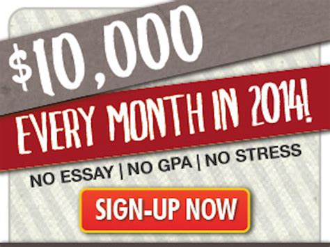 Scholarship Sweepstakes 2014 - win 10 000 00 cash blissxo com