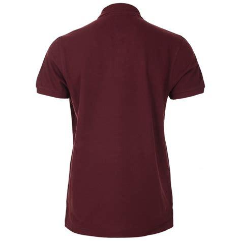 maroon merch mens maroon simple polo shirt