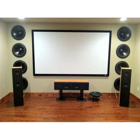 kef hifi  polk audio home theater system  screen