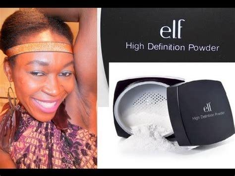 E L F Hd Powder Soft Luminance high definition powder review