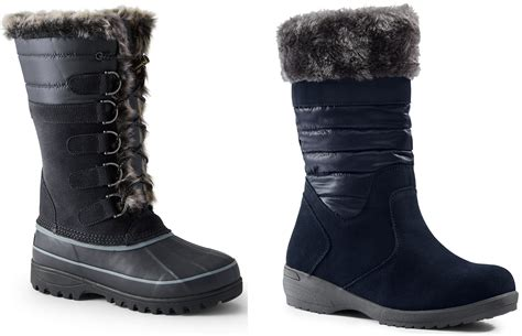lands end boots lands end s snow boots on sale for 25 19 30 79