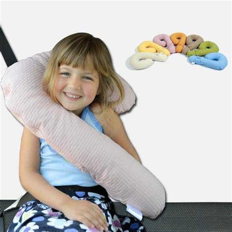car seat belt doll controller travel neck pillow