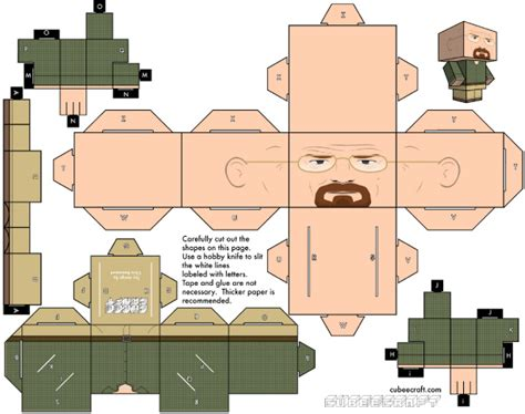 template after effects breaking bad cubeecraft breaking bad paper toy fr