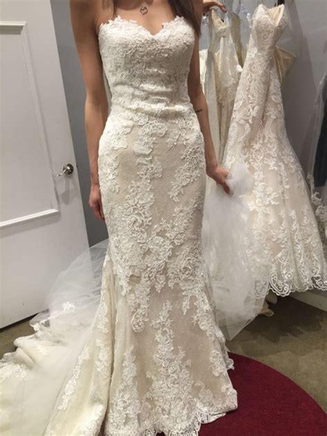 Pronovias Princia Size 4 Wedding Dress ? OnceWed.com