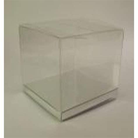 Clear Box No20 pvc clear boxes 90x90x90mm