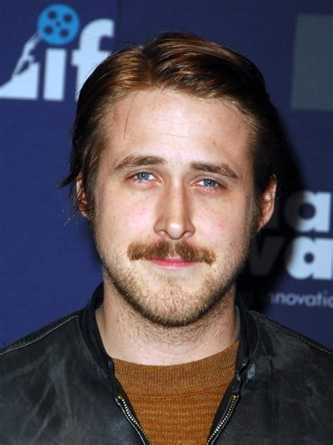 mega ryans looks over the years ryan gosling with a moustache ryan gosling through the