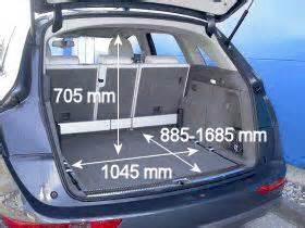 Kofferraum nach adac norm xc60 gt q5 gt glk audi q5 202915031