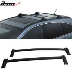 Roof Rails For Honda Crv 07 11 Honda Crv Cr V Oe Factory Style Black Top Roof Rack
