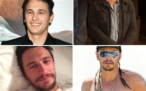 does james franco have tattoos franco shows watson carves