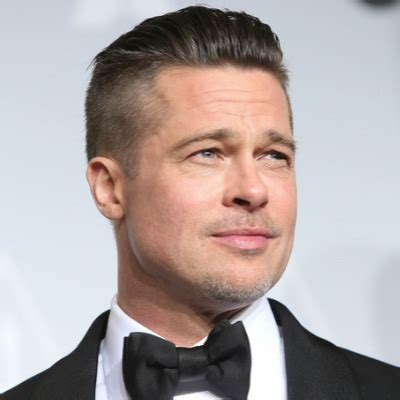 does brad pitt suffer from hair loss the idle man