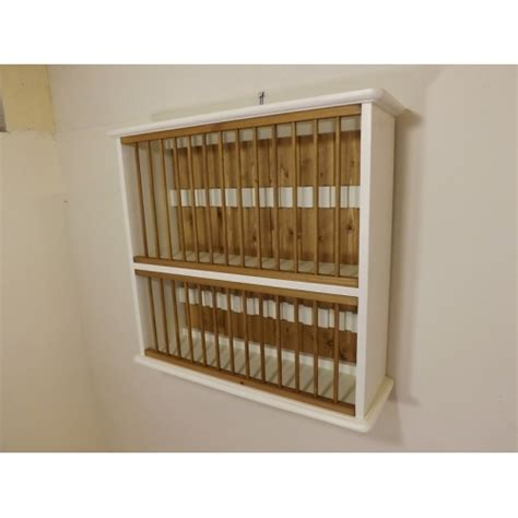 Painted Plate Rack by Painted Pine 28 Plate Rack W70cm