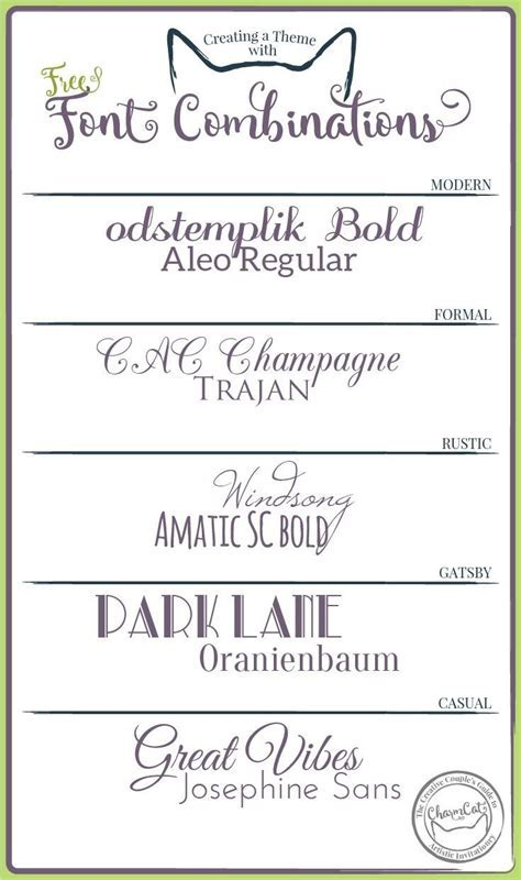 17 best images about Wedding Invitation Font Combinations