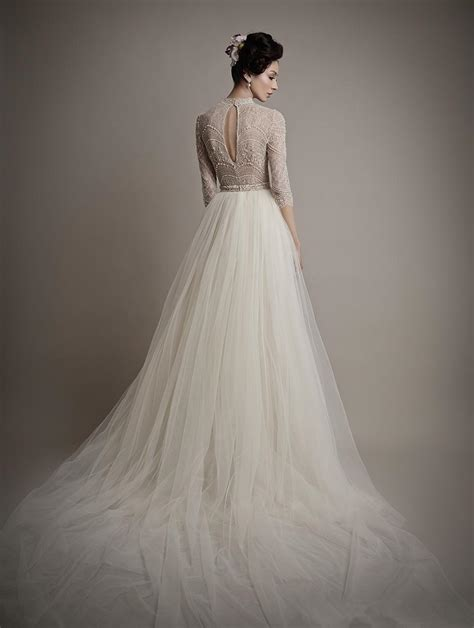 Mermaid Half Pack 30 X 30 Cm discount ersa atelier 2014 new high neck mermaid half sleeves lace wedding dresses bridal