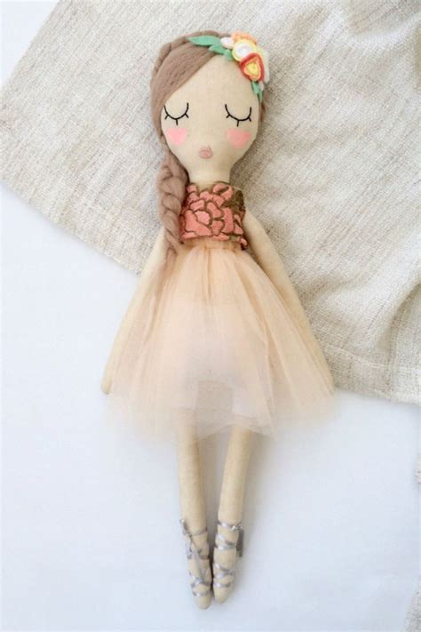 Handmade Cloth Dolls Patterns - the 25 best ballerina doll ideas on handmade