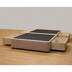 Tiffany 4 drawer queen platform bed storage mattress box 13439122