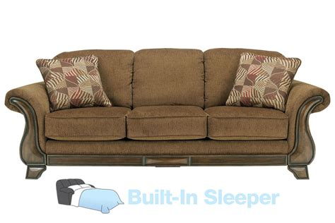 chenille sleeper sofa malory chenille queen sleeper sofa at gardner white