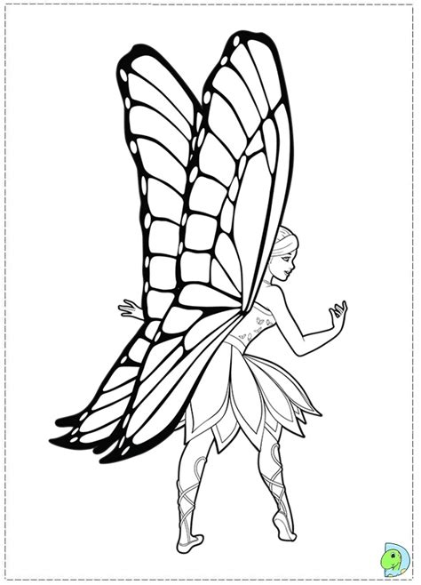 coloring pages of barbie mariposa fairy princess coloring page az coloring pages