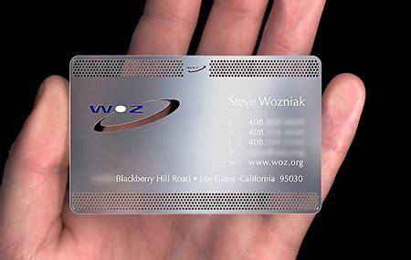 Aluminum Business Cards