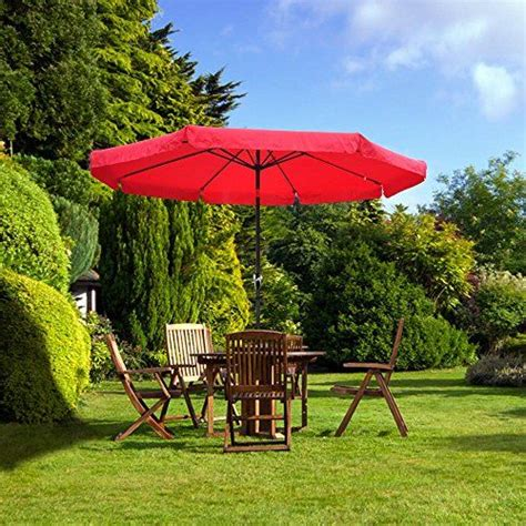 Grass Patio Umbrellas Outdoor Patio Umbrella W Crank On Grass No Deck Backyard Outdoor Patio