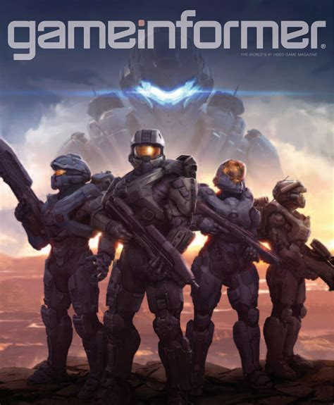 Game Informer Giveaway - halo 5 guardians exclussive in game informer