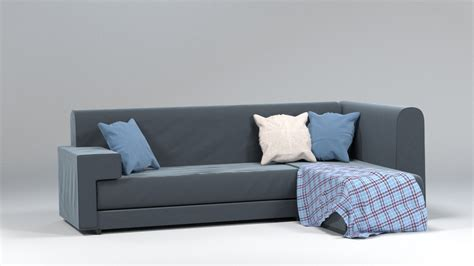 3d couch fabric couch sofa 3d obj