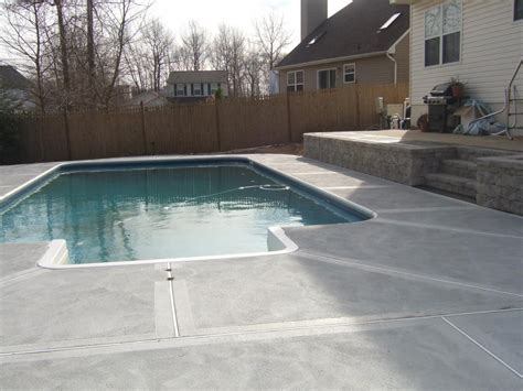 Pool Patio Designs Above Ground Pool Patio Design Ideas 187 Design And Ideas
