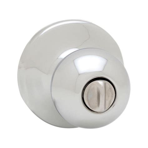 bed knobs kwikset polo polished chrome bed bath knob 300p 26 rcal rcs the home depot