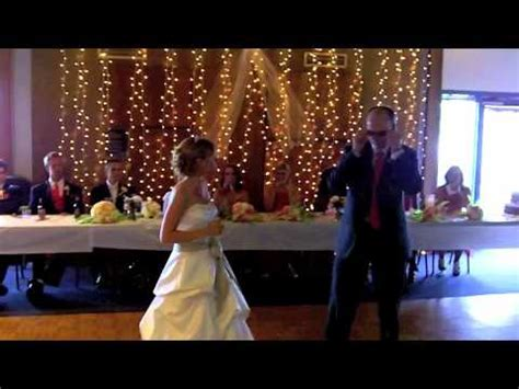 Funny Surprise Father Daughter Wedding Dance   YouTube