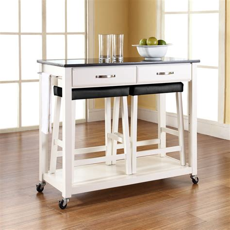 Kitchen Islands And Stools Kitchen Cart With Stools Kenangorgun