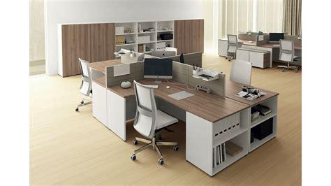 mobili per ufficio las scrivanie componibili las oxi arredo ufficio operativo