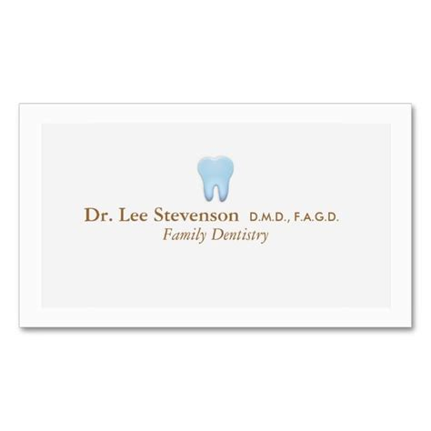 office business card templates free dentist office dds appointment business card business