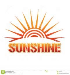 sunshine logo royalty free stock photos image 22139138