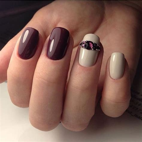maroon color nails best 25 maroon nails burgundy ideas on maroon