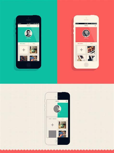 flat mobile 20 flat mobile ui designs for your inspiration hongkiat