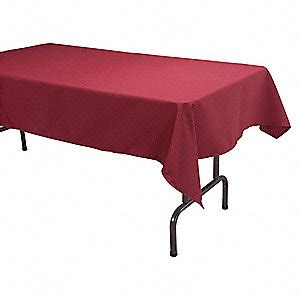 can you put a rectangle tablecloth on a table 70 quot x 52 quot rectangle visa 169 tablecloth burgundy