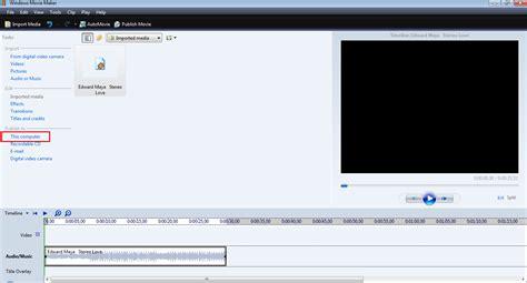 lagu mp u cara memotong lagu mp3 menggunakan windows movie maker