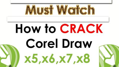 corel draw x6 how to crack how to crack corel draw x5 x6 x7 x8 for free latest