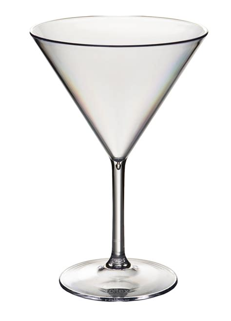 Cocktail Glasses Polycarbonate Cocktail Glasses Set 6 Cocktail Martini